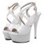 รองเท้าส้นสูง ไซต์ 35-40 สีดำ/ขาว/ครีม thumbnail 8