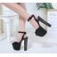 รองเท้าส้นสูงสีดำ ไซต์ 34-40 thumbnail 2