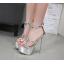 รองเท้าส้นสูงสีเงิน/ดำ ไซต์ 34-40 thumbnail 6