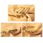 เซ็ตกำไลข้อมือแฟชั่นสีทองเหลือง 5 วง thumbnail 4