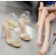 รองเท้าส้นสูงส้นแก้วสีเงิน/ทอง ไซต์ 35-39 thumbnail 3