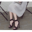 รองเท้าส้นสูงสีเงิน/ดำ ไซต์ 35-40 thumbnail 3