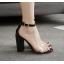รองเท้าส้นสูง สีทอง/ดำ ไซต์ 35-40 thumbnail 3
