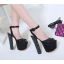 รองเท้าส้นสูงสีดำ ไซต์ 34-40 thumbnail 3