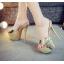 รองเท้าส้นสูงแบบสวมสีเงิน/ทอง ไซต์ 34-39 thumbnail 4