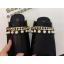 รองเท้าส้นสูงแบบสวมส้นหนาสีขาว/ดำ ไซต์ 34-38 thumbnail 4