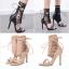 รองเท้าส้นสูง ไซต์ 34-40 สีดำ/ครีม thumbnail 1