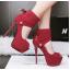 รองเท้าส้นสูง ไซต์ 34-39 สีดำ/แดง/เทา/เขียว thumbnail 5