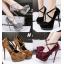 รองเท้าส้นสูง ไซต์ 34-39 สีดำ/แดง/เทา/น้ำตาล thumbnail 1