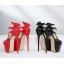รองเท้าส้นสูงส้นเข็มสีแดง/ดำ ไซต์ 34-40 thumbnail 7