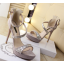รองเท้าส้นสูงสีเทา/ดำ ไซต์ 34-38 thumbnail 6