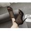 รองเท้าส้นสูงสีแอพพริคอท/ดำ ไซต์ 35-40 thumbnail 3