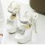 รองเท้าส้นสูงสีขาว/ดำ/แดง ไซต์ 34-39 thumbnail 9