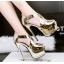 รองเท้าส้นสูง ไซต์ 34-39 สีดำ/เงิน/ทอง/เทา thumbnail 4