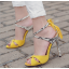 รองเท้าส้นสูงสีเหลือง/ดำ ไซต์ 35-40 thumbnail 3