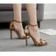 รองเท้าส้นสูงประดับดอกไม้สุดหรู ไซต์ 35-40 thumbnail 1