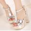 รองเท้าส้นสูง ไซต์ 34-39 สีเงิน สีทอง สีขาว thumbnail 2