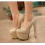 รองเท้าส้นสูง ไซต์ 34-39 สีทอง,เงิน thumbnail 2