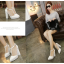 รองเท้าส้นสูงสีขาว/ดำ ไซต์ 35-40 thumbnail 5