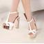 รองเท้าส้นสูง ไซต์ 34-39 สีเงิน สีทอง สีขาว thumbnail 4