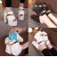 รองเท้าส้นสูง ไซต์ 34-38 สีดำ/ขาว thumbnail 1