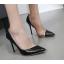 รองเท้าส้นสูงปลายแหลมสีดำ ไซต์ 35-40 thumbnail 1