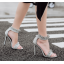 รองเท้าส้นสูงสีเงิน/ดำ ไซต์ 35-40 thumbnail 4