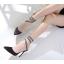 รองเท้าส้นสูงปลายแหลมสายพันรอบขา ไซต์ 35-40 thumbnail 3