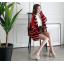 รองเท้าส้นสูงสีแดง/ครีม/ขาว/ดำ ไซต์ 34-39 thumbnail 7