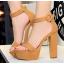 รองเท้าส้นสูง ไซต์ 34-39 สีดำ/แดง/ครีม/น้ำตาลเข้ม/น้ำตาลอ่อน/เทา thumbnail 4