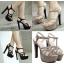 รองเท้าส้นสูง ไซต์ 35-39 สีดำ/น้ำตาล thumbnail 1