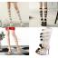 รองเท้าสายรัดยาวสีดำ/ขาว/ครีม ไซต์ 34-43 thumbnail 1