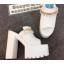 รองเท้าส้นสูงแบบสวมส้นหนาสีขาว/ดำ ไซต์ 34-38 thumbnail 6