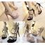 รองเท้าส้นสูงสีเทา/ดำ ไซต์ 34-38 thumbnail 1