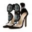 รองเท้าส้นสูงสีดำ ไซต์ 35-40 thumbnail 4
