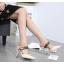 รองเท้าส้นสูง ไซต์ 35-40 สีดำ/แดง/ทอง/ครีม thumbnail 5