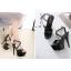 รองเท้าส้นสูง ไซต์ 35-40 สีดำ/ขาว/ครีม thumbnail 3