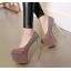 รองเท้าส้นสูงเก็ดกลิ๊กเตอร์สีฟ้า/ม่วง/ทอง/ชม ไซต์ 34-43 thumbnail 12