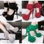 รองเท้าส้นสูง ไซต์ 34-39 สีดำ/แดง/เทา/เขียว thumbnail 1