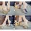 รองเท้าส้นสูงแบบสวมสีเงิน/ทอง ไซต์ 34-39 thumbnail 1