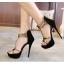 รองเท้าส้นสูง ไซต์ 35-40 สีดำ/ขาว thumbnail 5