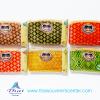 ของขวัญให้ผู้ใหญ่ กระเป๋าสตางค์ปักลายไทยขอบหนัง (แพ็ค 6 ชิ้น คละสี ) แบบ 12