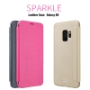 Samsung S9 - เคสฝาพับ Nillkin Sparkle leather case แท้