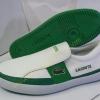 รองเท้า Lacoste ผู้ชาย สีขาว - เขียว