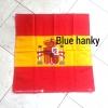 ผ้าพันคอลายธงชาติสเปน