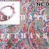 NC093 ผ้าพันคอลายเพลสลี่หยดน้ำ ผืนใหญ่ใช้คาดหัว พันคอ