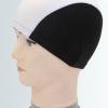 A005 หมวกว่ายน้ำ สีสันสดใส เนื้อผ้าโพลีเอสเตอร์อย่างดี สีดำ