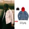 (จำนวนจำกัด) Jacket Supreme X Denim Hooded 17ss -ระบุสี/ไซต์-