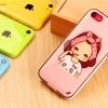 เคส ไอโฟน iPhone 5C :เด็กผู้หญิงแปรงฟัน