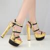 รองเท้าส้นสูงสีทอง ไซต์ 34-40